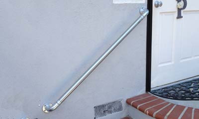 Outdoor Stair Railing Kit - Buy Step Handrail Online | Simplified .