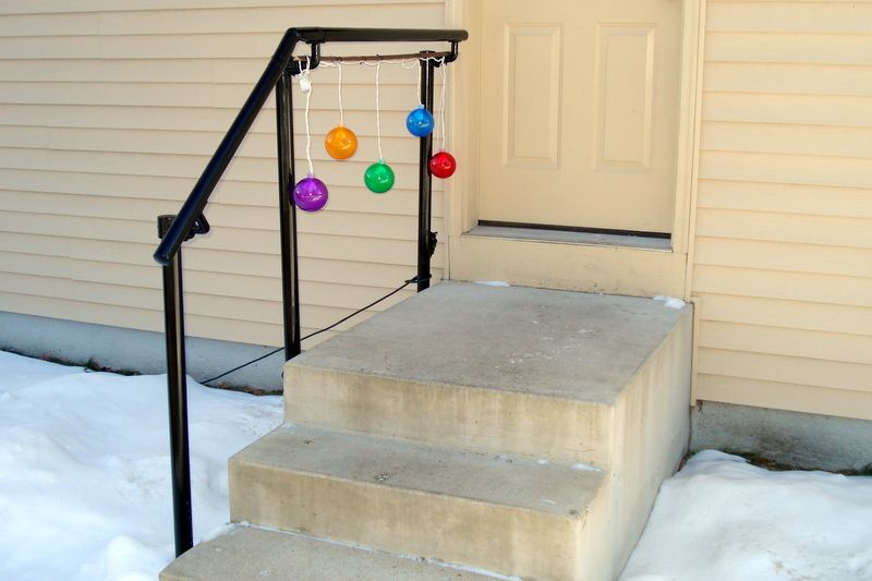 5 DIY Metal Stair Railing Examples | Metal stair railing, Metal .