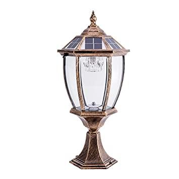 Amazon.com: LED Light LED Solar Post Lights Contemporary .