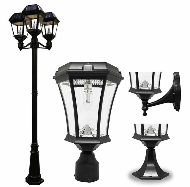 Solar Lamp Post Lights & LED Solar Deck Ligh