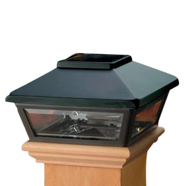 Low Profile Solar Post Light | Deckorators | The Deck Sto