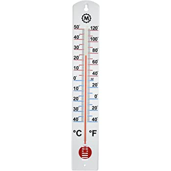 Amazon.com: MARATHON BA030001 Vertical Outdoor Thermometer - 16 .