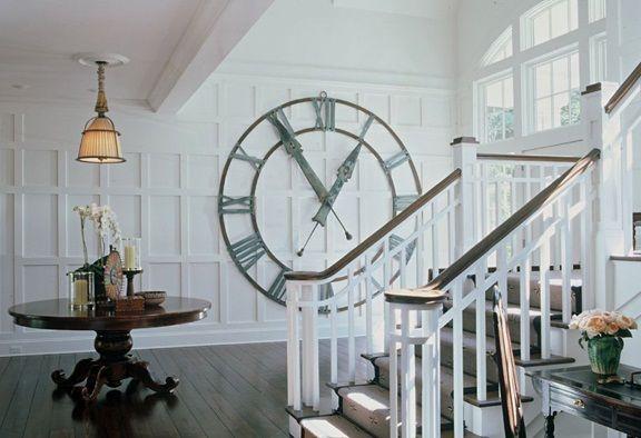 oversized decor clock | Thinking of Large Wall Clocks | Large .