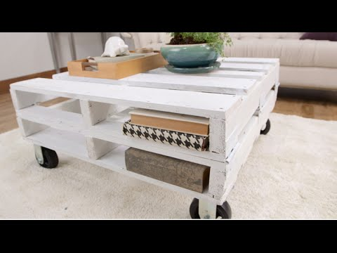 How to Create a Pallet Coffee Table in One Afternoon | Eye on .