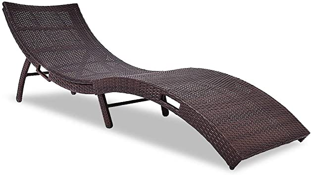 Amazon.com: Tangkula Patio, Wicker Rattan Heavy Duty 440 lbs .