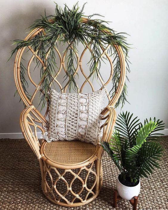 25 Peacock Chairs For Boho Chic Interiors - DigsDi