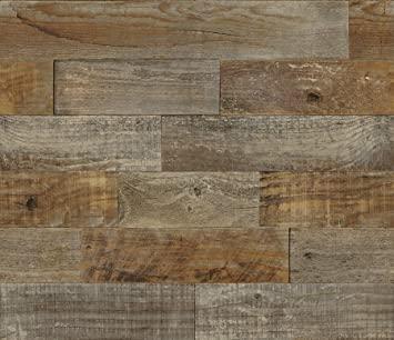 Brewster BHF3045 Farm Wood Peel & Stick Backsplash Tiles, Brown .