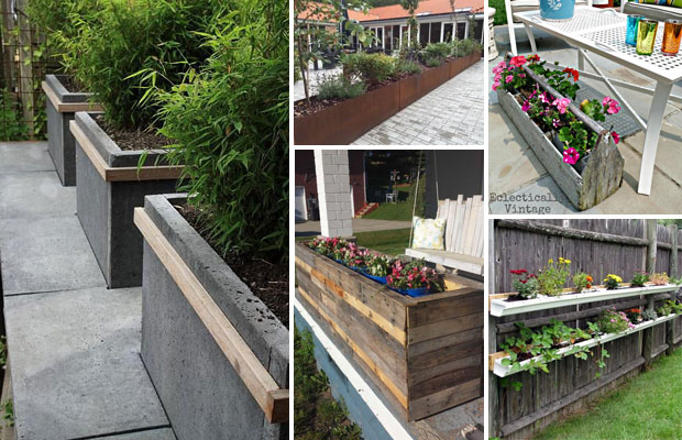 Amazingly Creative Long Planter Ideas for Your Patio - Proud Home .