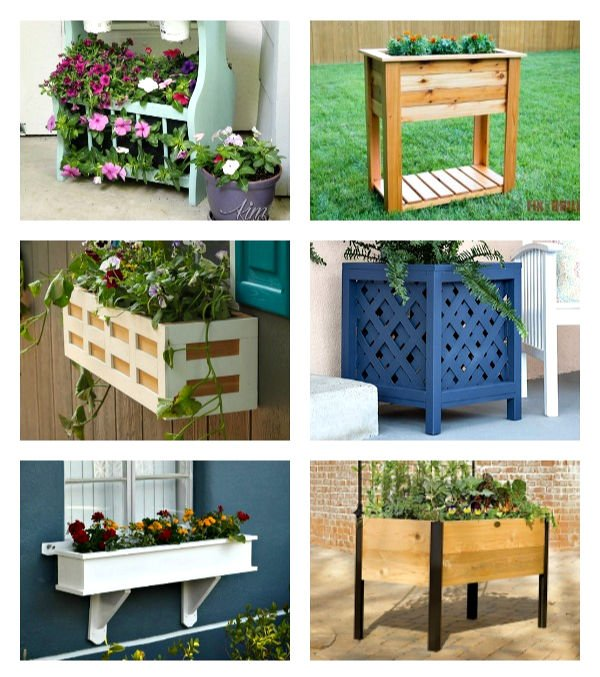 Outdoor Planter Ideas for your Porch - to DIY or Buy - Abbotts At Ho