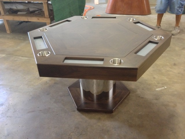 Poker/Card Table by MITCHELL | Exclusive Billiard Designs .