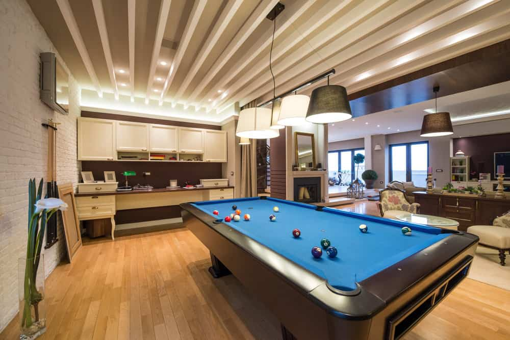 Pool Table Room Decor