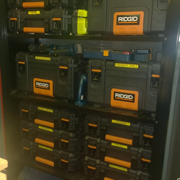 Modular Portable Tool Storage - RYOBI Nation Projec