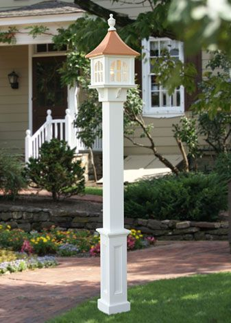 Lamp Post and Lanterns from Capital Outdoor Accents | Outdoor post .
