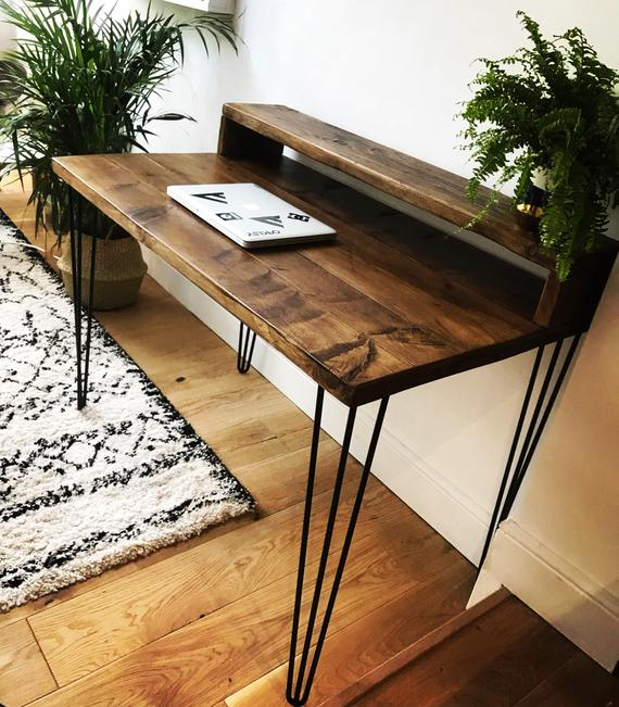 Reclaimed Wood Desk | Et