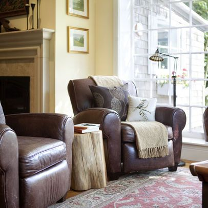 Leather Design Ideas, Pictures, Remodel and Decor | Living room .