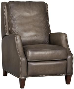 Leather Recliner that doesn't look like a recliner | Recliner .