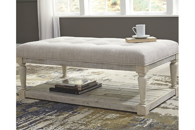 Shawnalore Coffee Table Ottoman | Ashley Furniture HomeSto