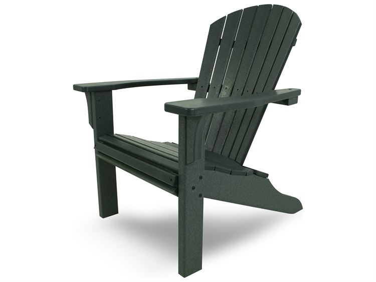 POLYWOOD® Seashell Recycled Plastic Adirondack Chair | PWSH