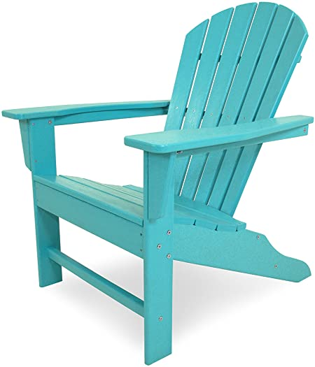 Amazon.com : POLYWOOD SBA15AR South Beach Adirondack Chair, Aruba .