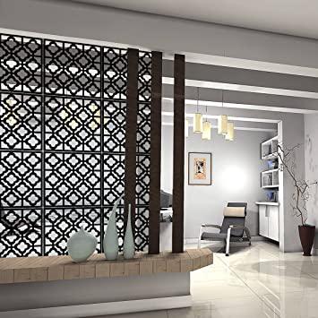 Amazon.com: Kernorv Hanging Room Divider Decorative Screen Panels .