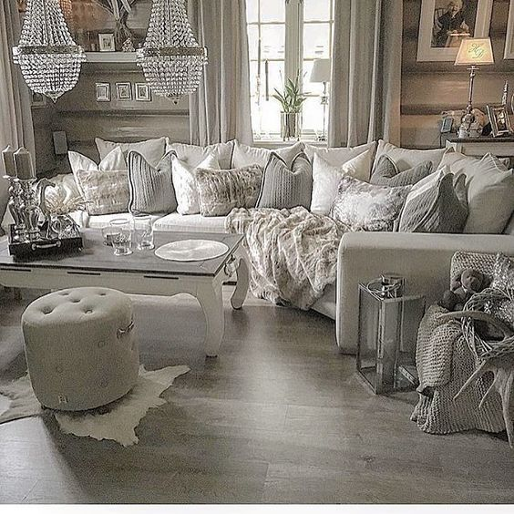21 fabulous rustic glam living room decor ideas – Amber's .