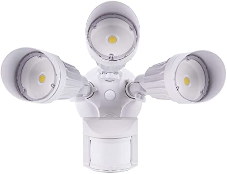 Amazon.com: JJC LED Security Lights Motion Sensor Flood Light .