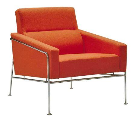 arne jacobsen series 3300 easy chair | Modern leather sofa, Easy .