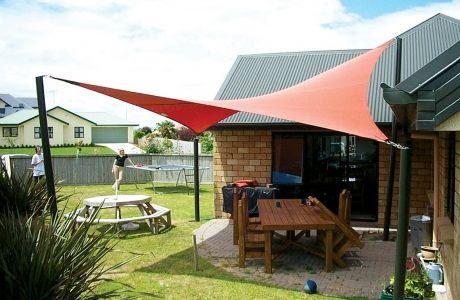 Backyard Shade Projects and Ideas | Backyard shade, Backyard patio .