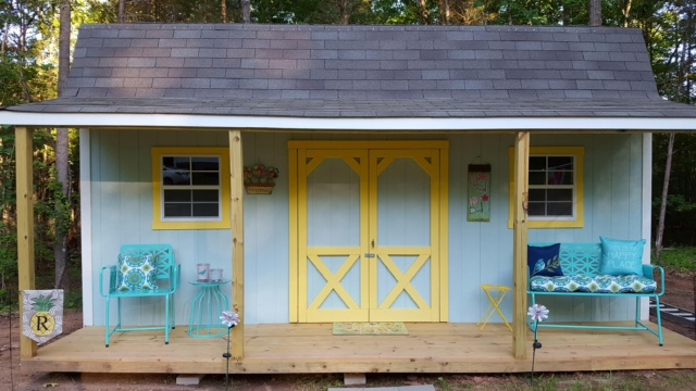 Outdoor Storage Building - She Shed Ide