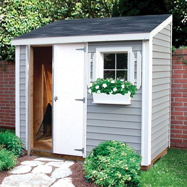 Shed Storage Ideas for Your Garden | Backyard storage sheds .