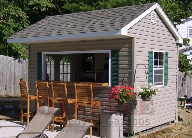 Backyard Bar Shed Ideas | Build a Pub Shed | Backyard sheds .