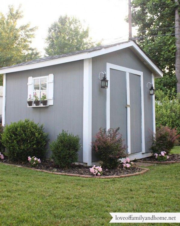 Back Deck/Pergola Reveal - Love of Family & Home | Backyard sheds .