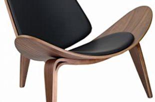 Amazon.com: Design Tree Home Hans Wegner Shell Chair Replica .