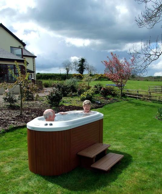 2 Person Hot Tub in 2020 | Hot tub outdoor, Jacuzzi outdoor, Small .