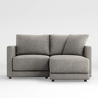 Gather 2-Piece Small Space Sectional | Crate and Barr