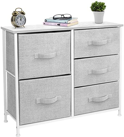 Amazon.com - Sorbus Dresser with 5 Drawers - Furniture Storage .