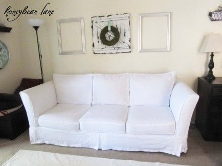 Disney Family | Recipes, Crafts and Activities | Slip covers couch .