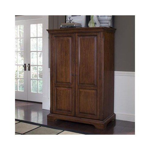 Amazon.com: Callon Solid Wood Computer Armoire in Dark Cherry .