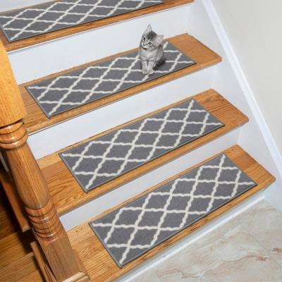 4 - Rubber Backed - Ottomanson - Stair Tread Covers - Rugs - The .