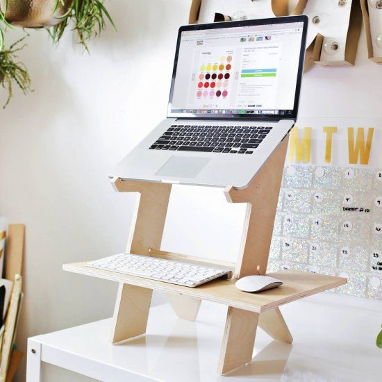 Standing Desk DIY | Diy standing desk, Diy crafts desk, Tabletop .