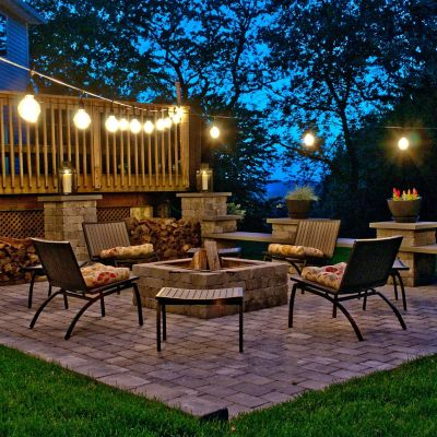 11 Outdoor String Lighting Ideas for a Modern Backyard | YLighting .
