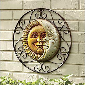 Sun and Moon Wall Hanging | Moon decor, Moon wall art, Sun mo