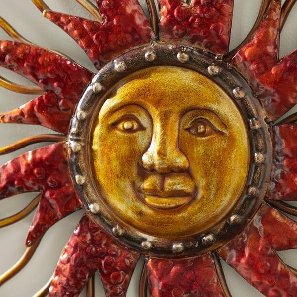 Shop Metal Sun Moon Wall Decor - On Sale - Overstock - 86409