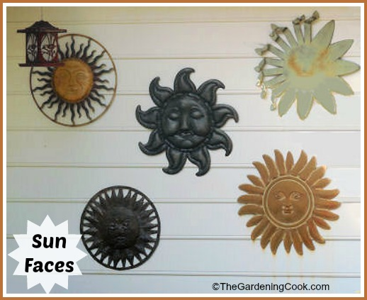 Sun Faces for Your Gard