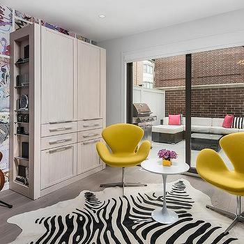 Yellow Swan Chairs Design Ide