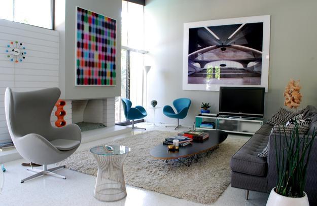 Designer Chairs Swan and Egg Bringing Elegant Past of Retro Styles .