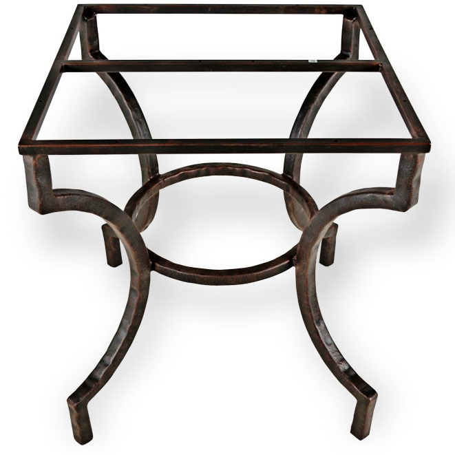 Corinthian Iron Dining Table Ba