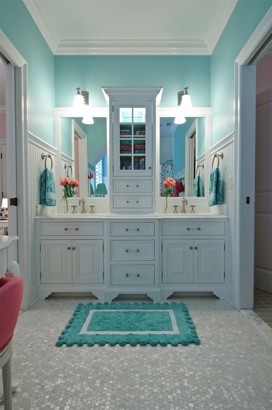 What Is Your Design Style? | Tiffany blue rooms, Mermaid bathroom .