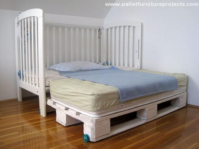 Pallet Toddler Bed Ideas | Pallet Furniture Projec
