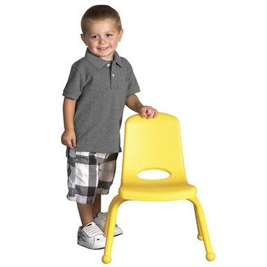 """ELR2192 10"""" Stack Chair - Matching Legs - 6 Pack 